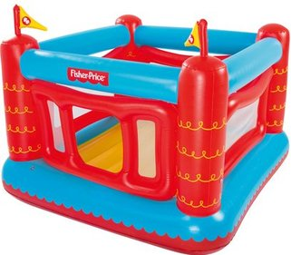 Fisher-Price Air Castle uppblåsbara