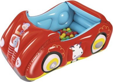 Bestway race car inflatable ball pit