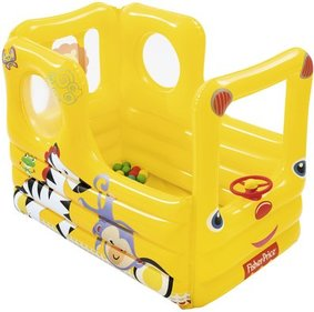 Fisher-Price Bus opblaas ballenbak