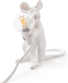 Seletti Sitting Mouse tafellamp