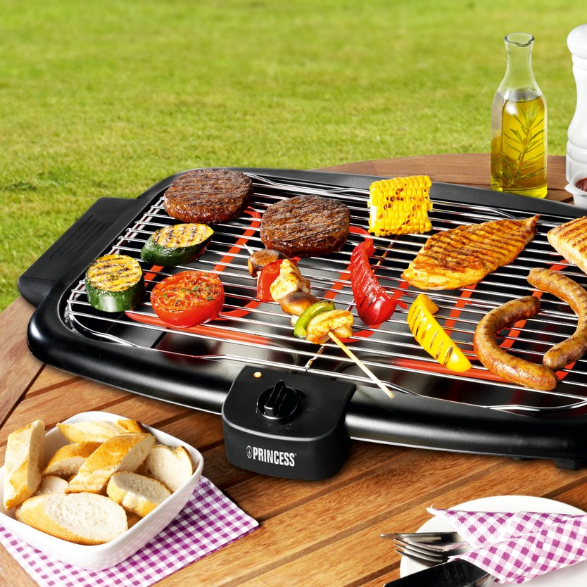 Princess Electric Table Top Grill barbecue