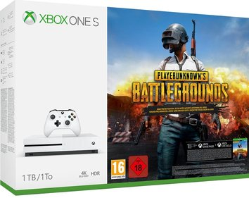 Xbox One S console 1 TB + PlayerUnknown's Battlegrounds