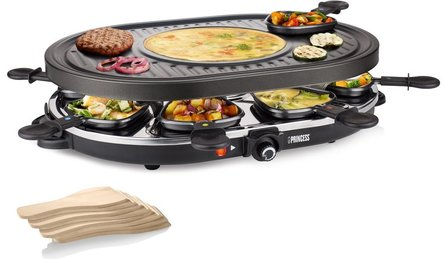 Princess Raclette Oval Gourmet-Set