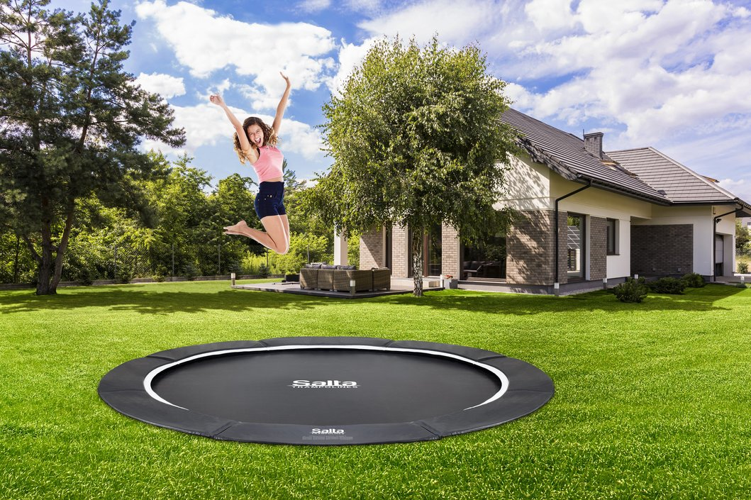 Salta Royal Baseground trampoline rond