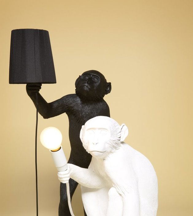 Want To Buy Seletti Standing Monkey Lampshade Frank
