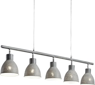 Divalii Aged iron 5L hanglamp