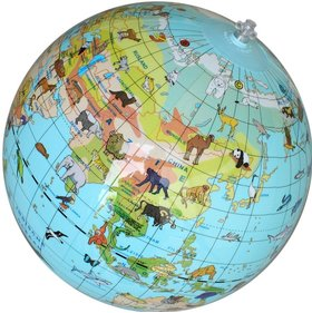 Globe gonflable pour animaux Caly-Toys
