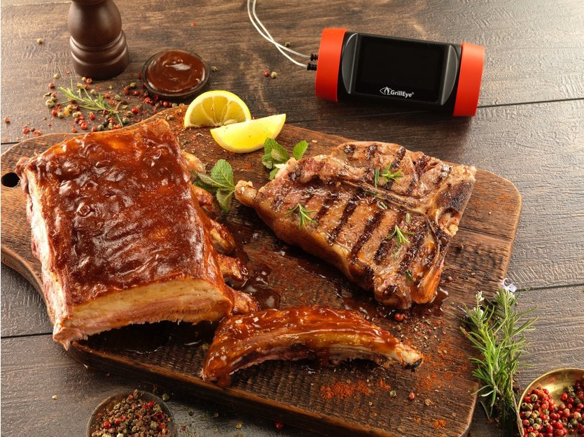 GrillEye Pro+ Grilling & Smoking Thermometer