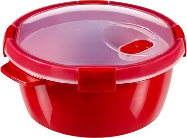 Curver Smart Microwave steamer + steam tray