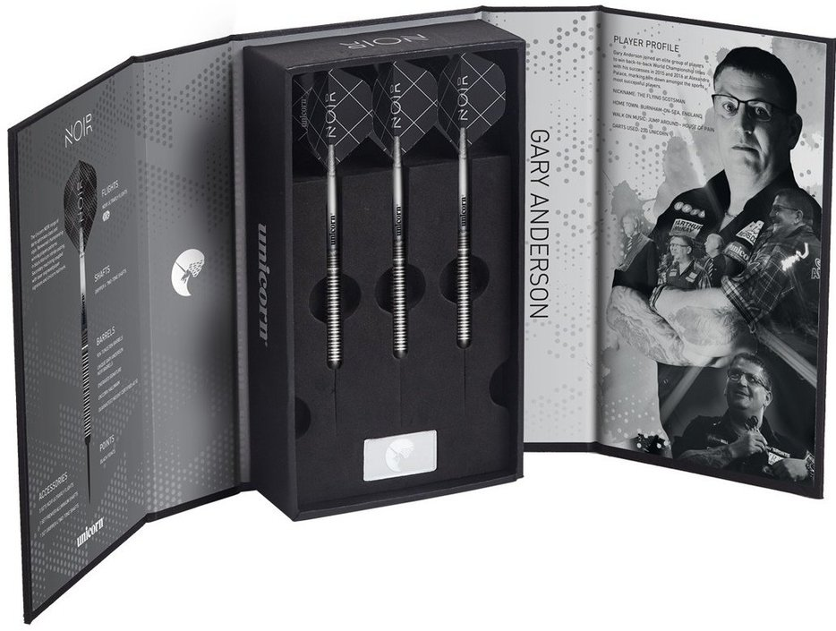 Unicorn World Champion Gary Anderson NOIR Darts Presentation Box
