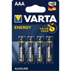 1x4 Varta High Energy Micro AAA LR 03 DE-Version