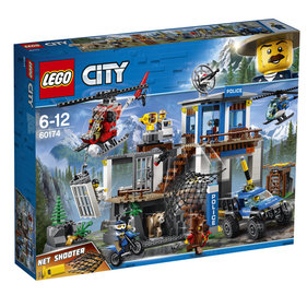LEGO City Police Office auf dem Berg - 60174