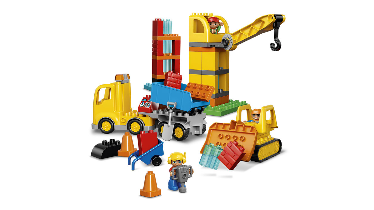 Lego SurFrank Chantier 10813 Grand Duplo Okn0Pw