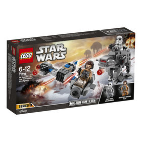 LEGO Star Wars Ski Speeder vs. First Order Walker microfighters - 75195