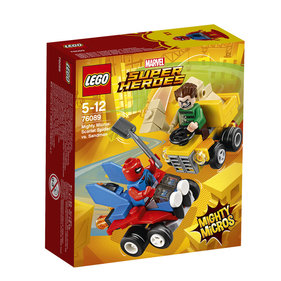 LEGO Marvel Super Heroes Mighty Micros: Scarlet Spider vs. Sandman - 76089