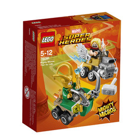 LEGO Marvel Super Heroes Mighty Micros: Thor vs. Loki - 76091