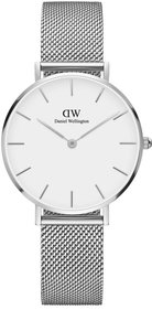 Daniel Wellington Classic Petite Sterling 32mm wit horloge
