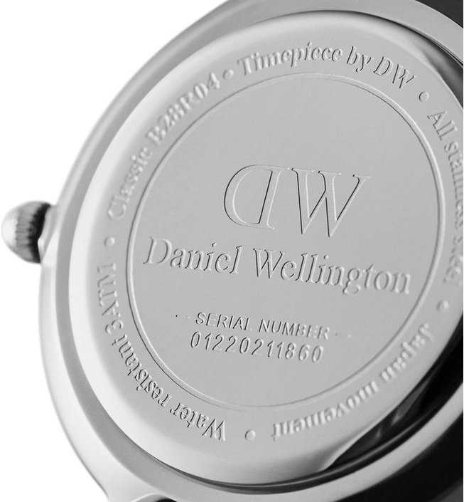 Daniel Wellington Classic Petite Sterling 28mm wit horloge