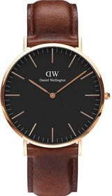Daniel Wellington Classic Black t Mawe 40mm horloge