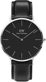 Daniel Wellington Classic Black Sheffield 40mm horloge
