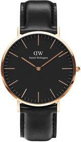 Daniel Wellington Classic Black Sheffield 40 mm Uhr
