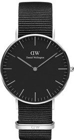 Daniel Wellington Classic Black Cornwall 36mm horloge