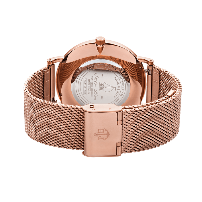 Montre Paul Hewitt Sailor en or rose