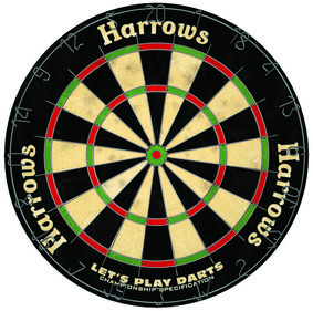 Harrows Let's Play Darts Bristle Board