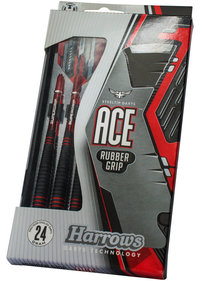 Harver Ace Rubbergrip Steeltip dartpile sæt