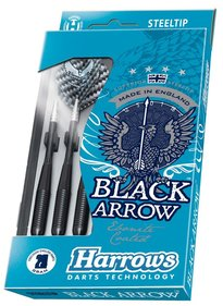 Harrows Black Arrow Steeltip dartpijlenset