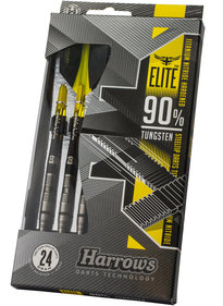 Harrows Elite 90% Tungsten Steeltip dartpijlenset