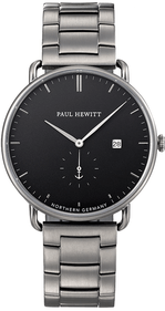 Paul Hewitt The Grand Atlantic Black Sea montre noir/acier