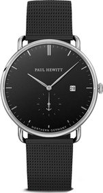 Paul Hewitt The Grand Atlantic Black Sea black / steel watch