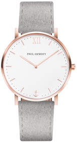 Montre Paul Hewitt Sailor gris / cuir