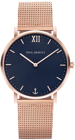 Montre Paul Hewitt Sailor bleu / rose