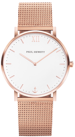 Montre Paul Hewitt Sailor rose / acier inoxydable