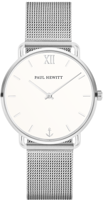 Paul Hewitt Miss Ocean silver watch