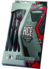 Harver Ace Rubbergrip Softip dartpile sæt