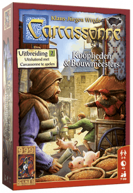 Carcassonne: Kooplieden & Bouwmeesters