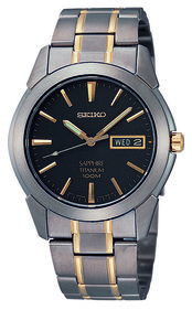 Seiko Titanium SGG735P1 watch