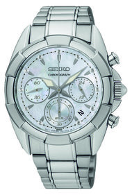 Seiko Chronograph SRW807P1 watch