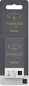 Parker Quink black ink cartridges