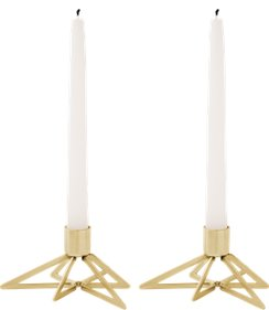 Stelton Tangle Star candle holder 2 pieces