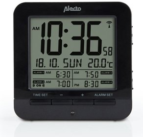 Alecto AK-20 alarm clock with thermometer