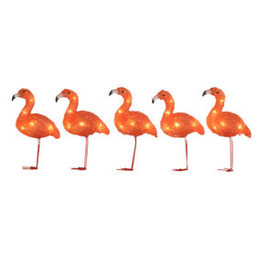 Konstsmide flamingo outdoor partylights