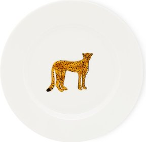 Fabienne Chapot Cheetah pastry plate