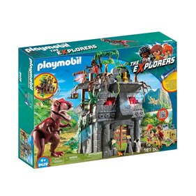 Playmobil Base Camp Of The Explorers With T-Rex 9429