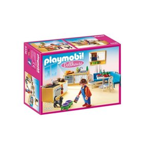 Playmobil Kitchen With Sitting Area 5336