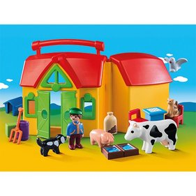 Playmobil 123 Take-Away-Farm mit Tieren 6962