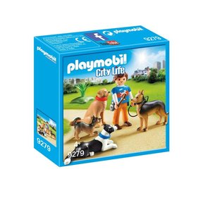 Playmobil Dog Guard 9279